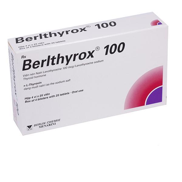 Berlthyrox 100 (Levothyroxin)Menarini (H/100v)