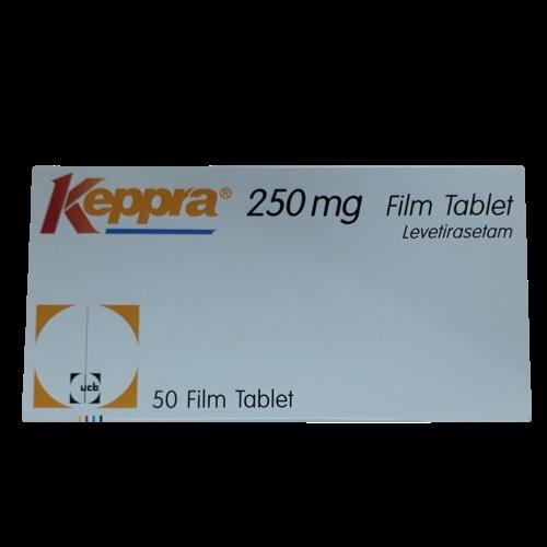 Keppra 250mg (Levetiracetam) UCB (H/50v)
